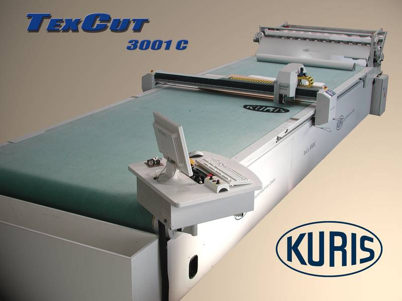 single ply cutter Texcut 3001 c